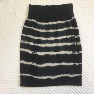 American Apparel jersey mini skirt